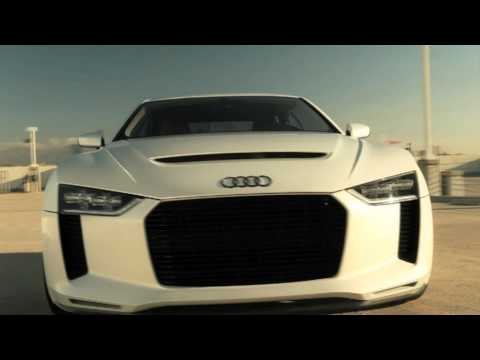 Audi Quattro Concept official promo - narrated