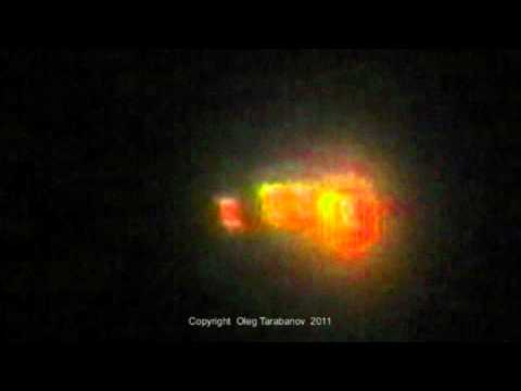 The Strangest UFO in Moscow on March 06 2011 at 18 55